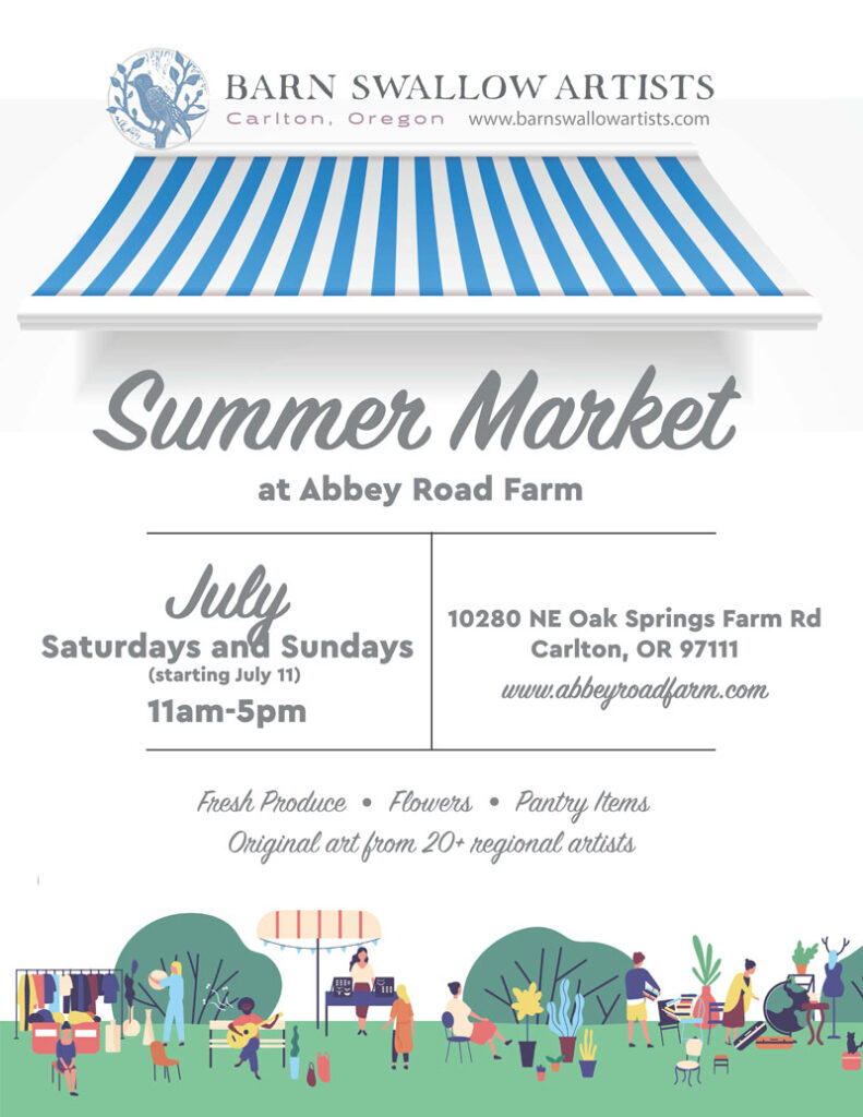Summer Market at Abbey Road Farm